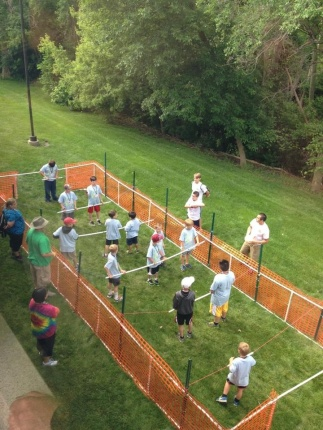 Human foosball tournament summer bash fall fest 2018 for Fall outdoor activities for adults